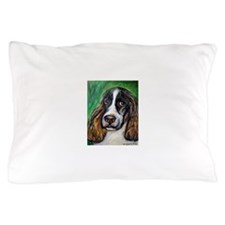 Springer Spaniel Smile Pillow Case