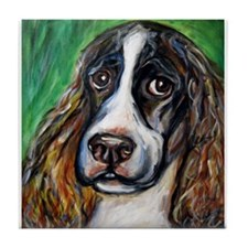 Springer Spaniel Smile Tile Coaster