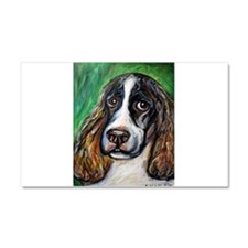 Springer Spaniel Smile Car Magnet 20 x 12