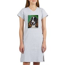 Springer Spaniel Smile Women's Nightshirt