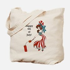 Miss 4th of July Tote Bag