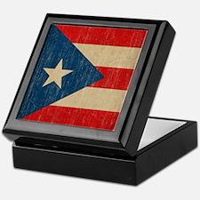 Vintage Puerto Rico Keepsake Box