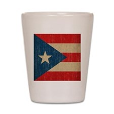 Vintage Puerto Rico Shot Glass