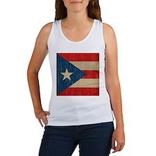 Vintage Puerto Rico Women's Tank Top