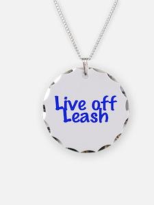 Live Off Leash Necklace