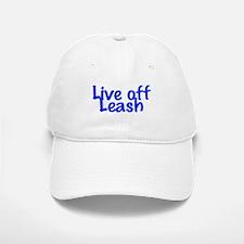 Live Off Leash Baseball Baseball Cap