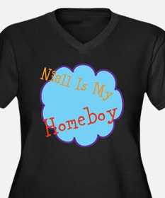 Niall Is My Homeboy Women's Plus Size V-Neck Dark