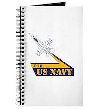 US NAVY Hornet F-18 Journal