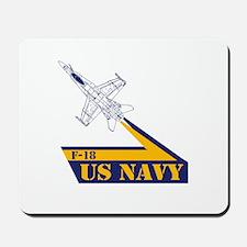 US NAVY Hornet F-18 Mousepad