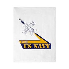 US NAVY Hornet F-18 Twin Duvet