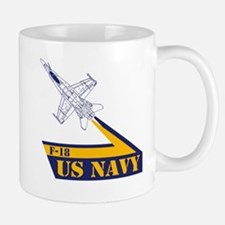 US NAVY Hornet F-18 Mug