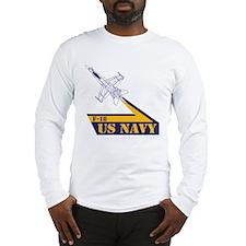 US NAVY Hornet F-18 Long Sleeve T-Shirt