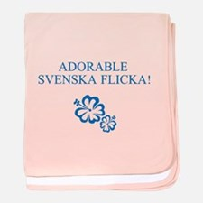 Adorable Svenska Flicka - (Swedish Girl) baby blan