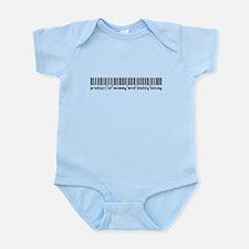 Boley, Baby Barcode, Infant Bodysuit