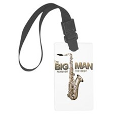 RIP Big Man Clarence Clemons Luggage Tag