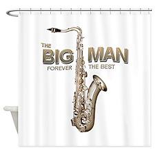 RIP Big Man Clarence Clemons Shower Curtain