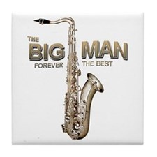 RIP Big Man Clarence Clemons Tile Coaster