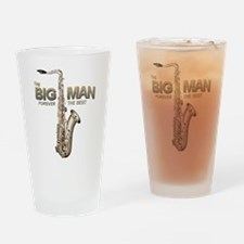 RIP Big Man Clarence Clemons Drinking Glass