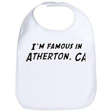 Famous in Atherton Bib