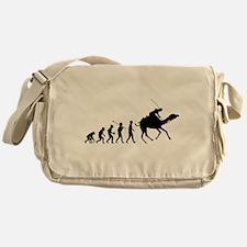 Camel Racing Messenger Bag