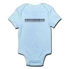 Carroll, Baby Barcode, Infant Bodysuit
