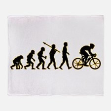 Bicycle Racer Throw Blanket