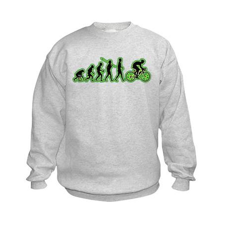 Bicycle Racer Kids Sweatshirt