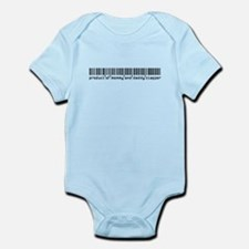 Clapper, Baby Barcode, Infant Bodysuit