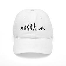 Curling Baseball Cap