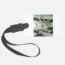 bonefish-art-image.jpg Luggage Tag