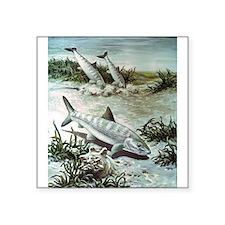"""bonefish-art-image.jpg Square Sticker 3"""" x 3"""""""