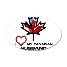 America - Canada Husband.png Wall Decal