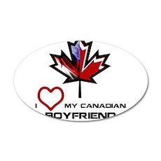 America - Canada Boyfriend.png Wall Decal