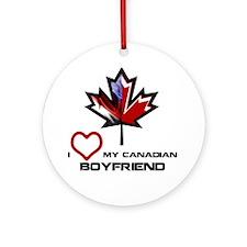America - Canada Boyfriend.png Ornament (Round)
