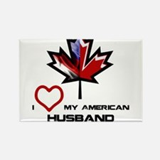 Canada-America Husband.png Rectangle Magnet