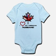 Canada-America Husband.png Infant Bodysuit