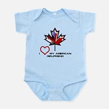 Canada-American Girlfriend.png Infant Bodysuit