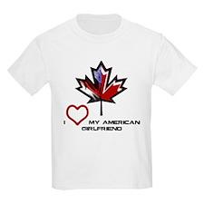 Canada-American Girlfriend.png T-Shirt