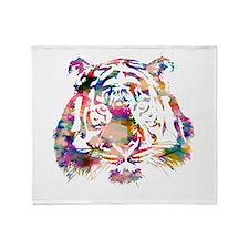 Sparkle Tiger Throw Blanket