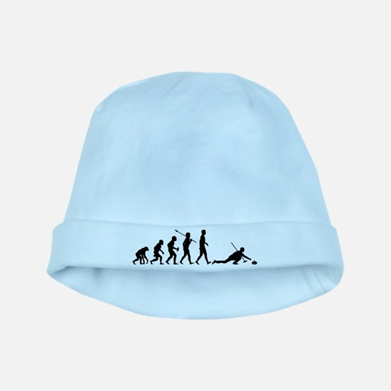 Curling baby hat