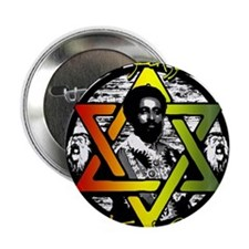 "HAILE SELASSIE I - ONE LOVE! 2.25"" Button (10 pack"