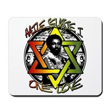 HAILE SELASSIE I - ONE LOVE! Mousepad
