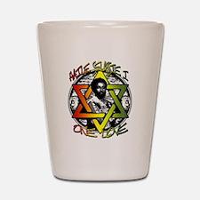 HAILE SELASSIE I - ONE LOVE! Shot Glass