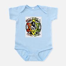 HAILE SELASSIE I - ONE LOVE! Infant Bodysuit