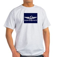 Aeroflot Airlines T-Shirt (Grey)