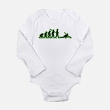 Curling Long Sleeve Infant Bodysuit