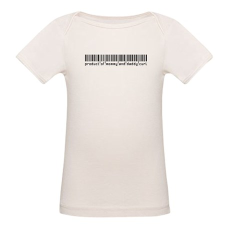 Curl, Baby Barcode, Organic Baby T-Shirt