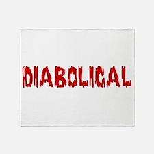 Diabolical Throw Blanket