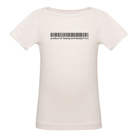 Fitch, Baby Barcode, Organic Baby T-Shirt