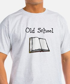 Old School book T-Shirt